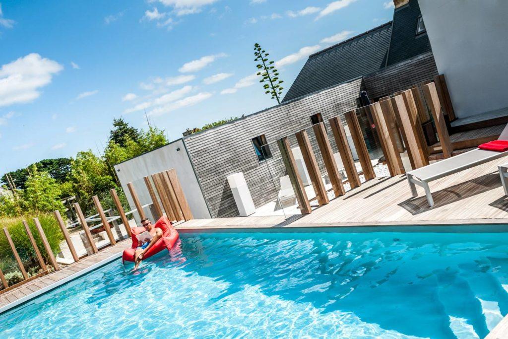 vakantievilla met zwembad in Noord-Bretagne