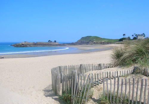 Saint Briac sur mer Bretagne Strand