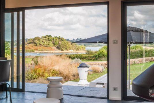 vakantiehuis voor grote familie met uitzicht Bretagne