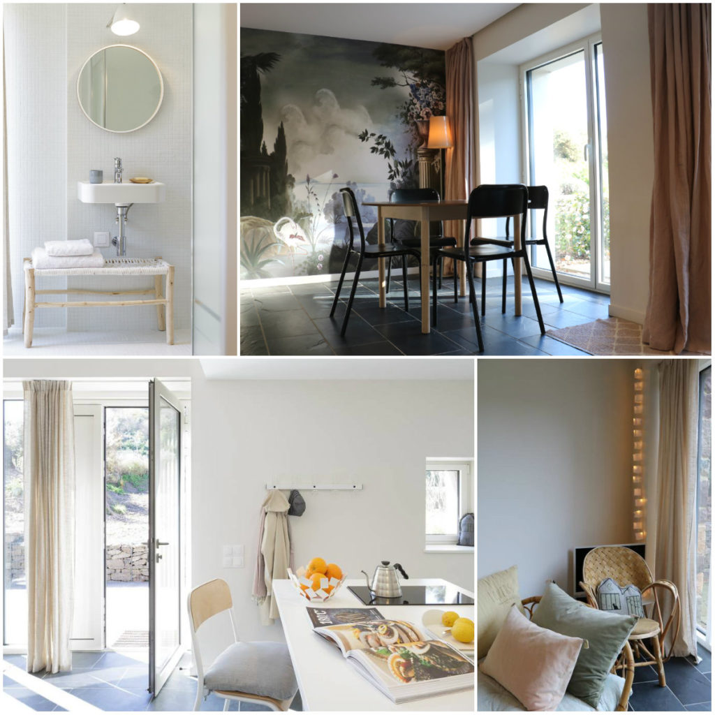 mooi modern vakantiehuis aan kust Bretagne