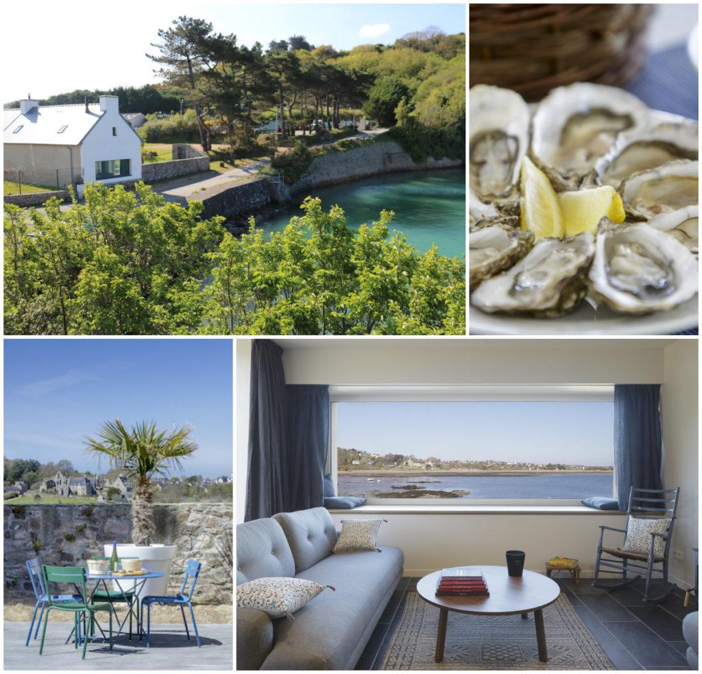 Bretagne vakantiehuis visserhuisje aan zee