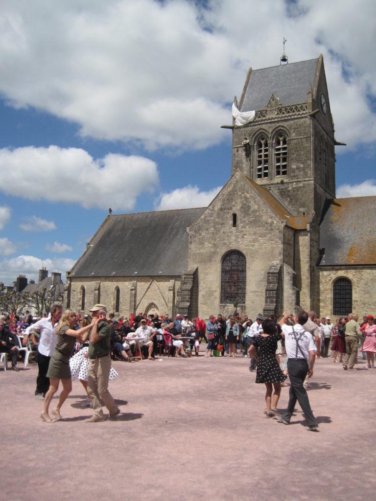 sainte-Mere-Eglise Normandië D-Day