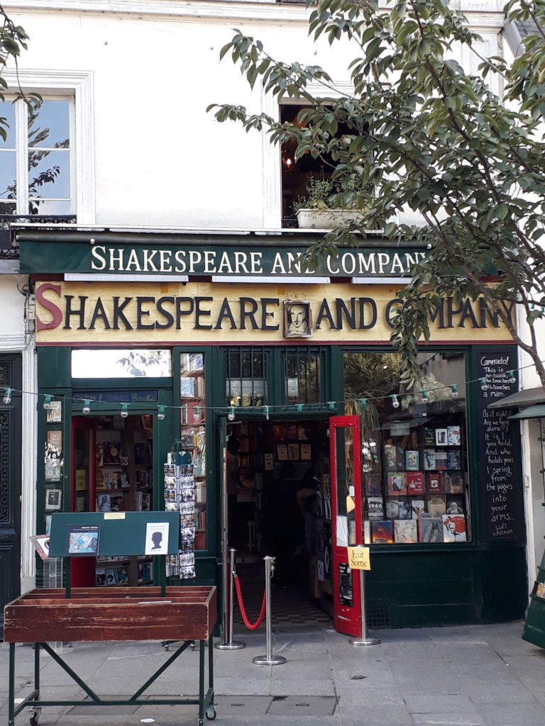 Boekhandel Shakespear & Co Parijs