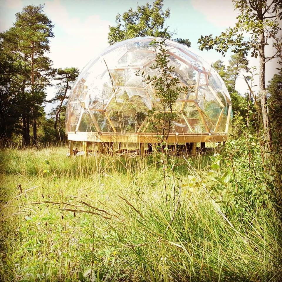 bubbeltent Camping le Mettey