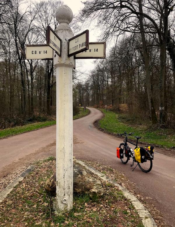 met de fiets naar Parijs