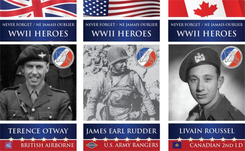 D-Day herdenkingen soldaten