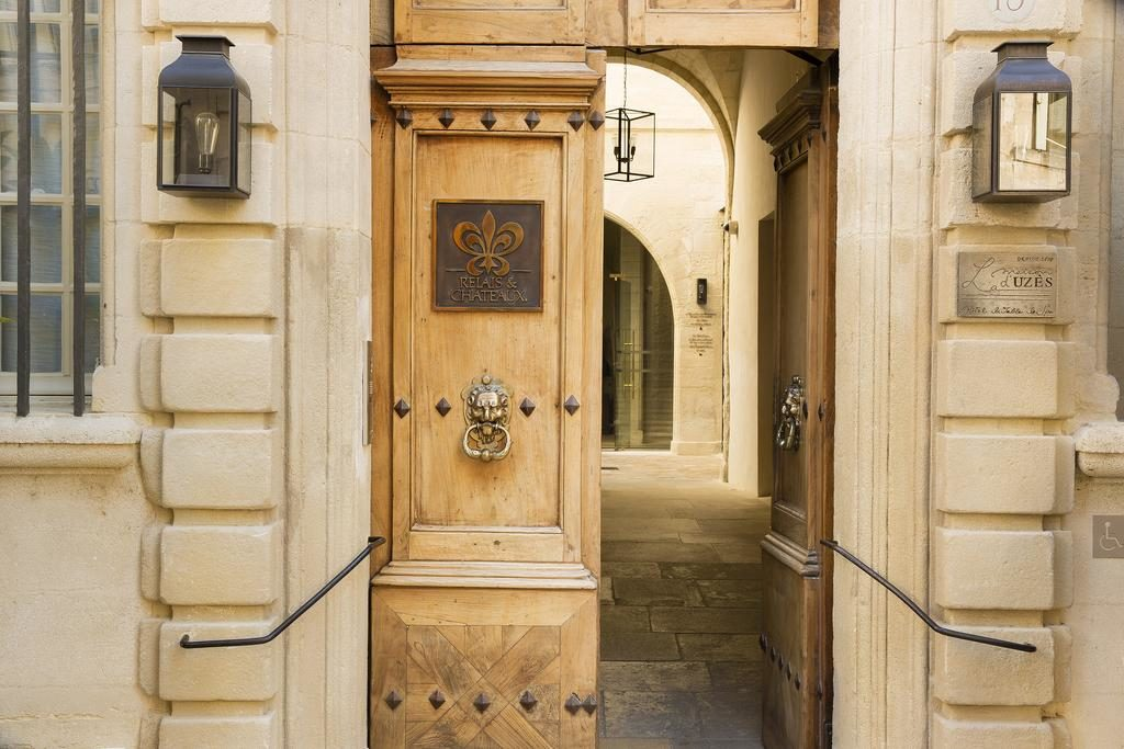 La maison d'Uzès Entrance