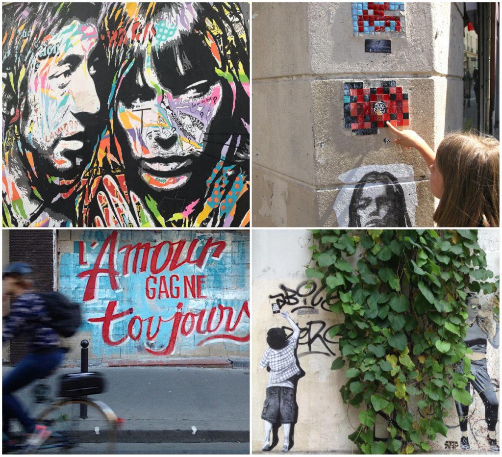 street-art in Parijs