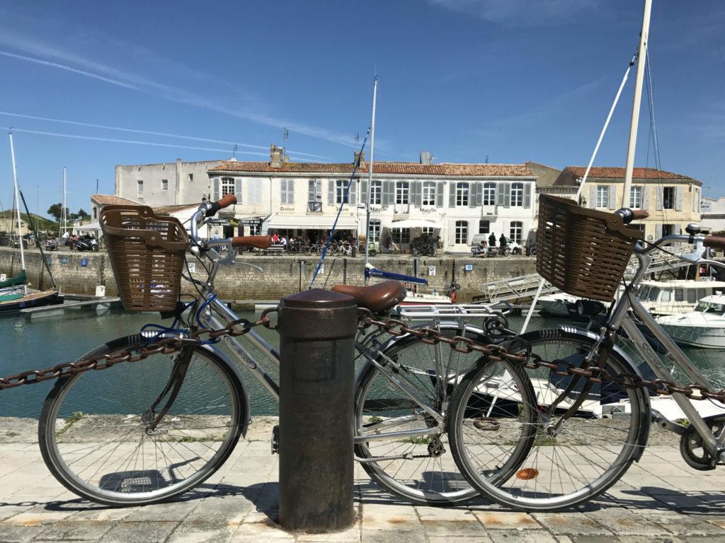 fietsen langs de Atlantische kust Ile de Ré