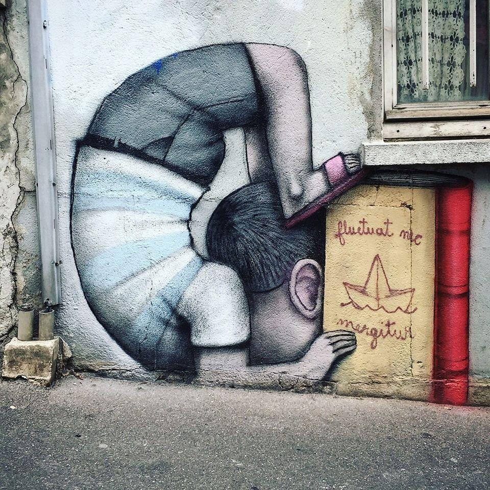 nieuwe street-art museum in Parijs drijft op de Seine