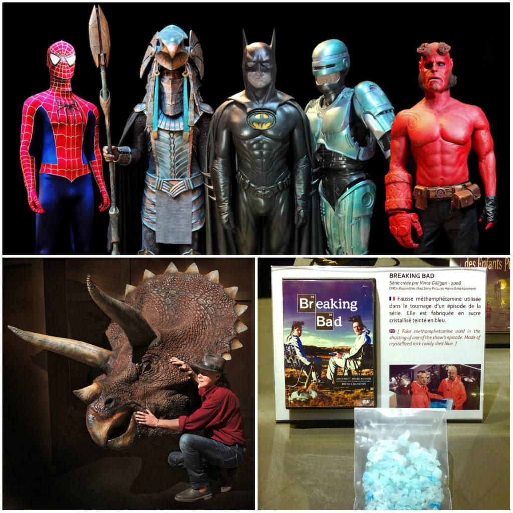 Museum Lyon Cinema & Minitaure superheroes