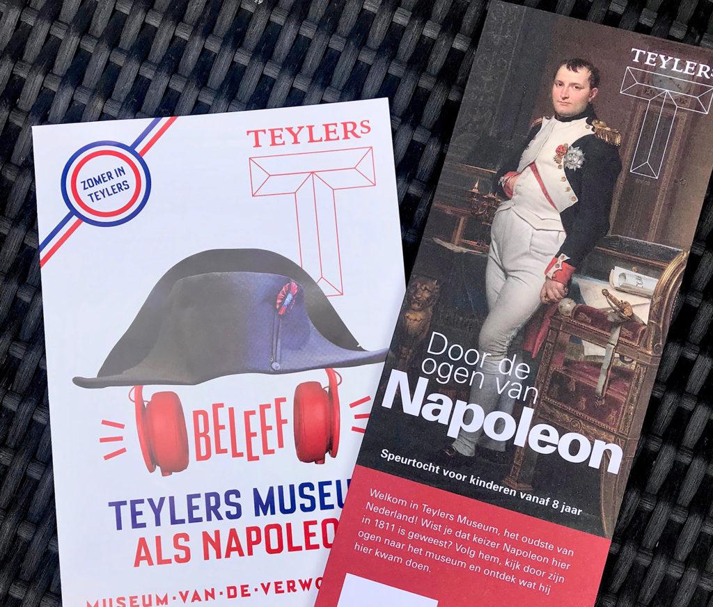Napoléon het Teylers Museum in Haarlem