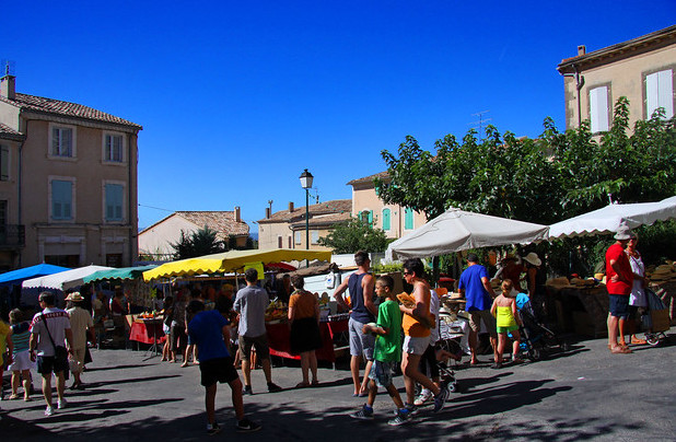 markt in de Provence Apt