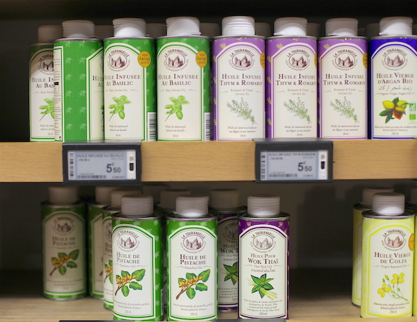 oliën in Frankrijk supermarkt