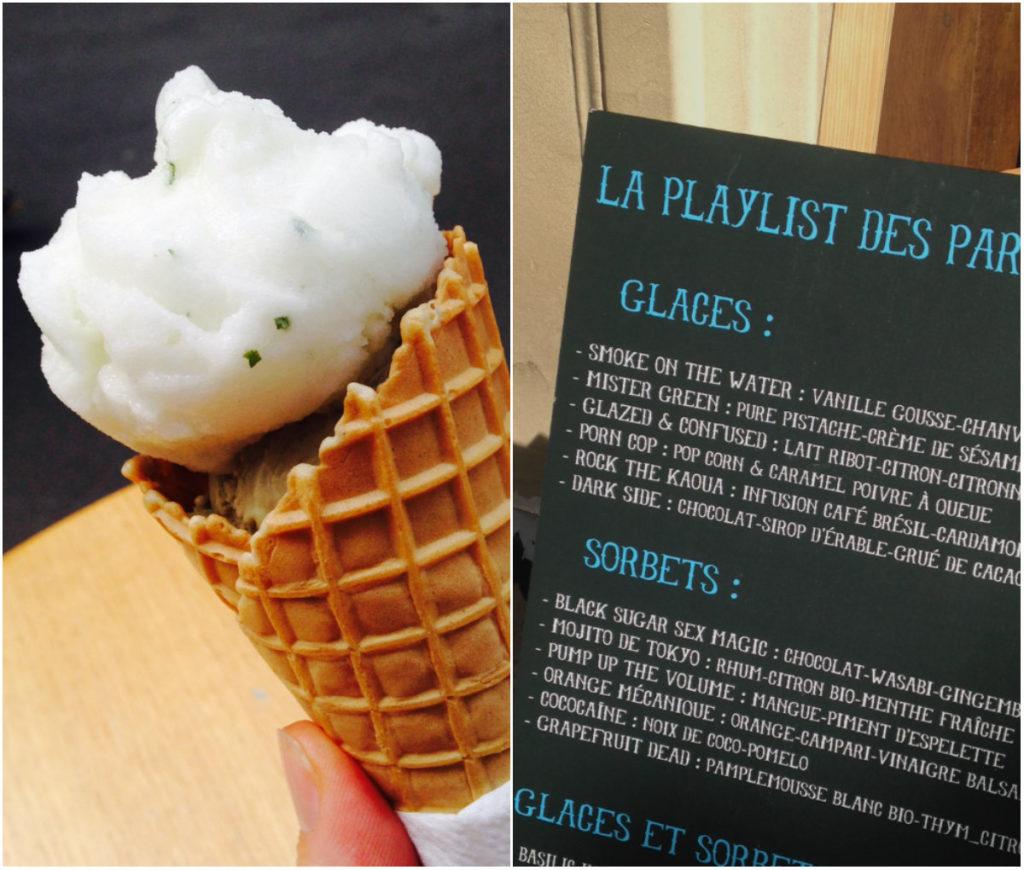 Mojito ijs bij Glazed Parijs