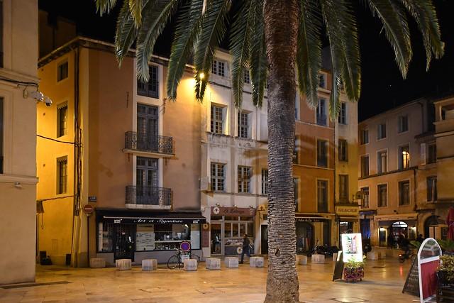 Nimes oude binnenstad