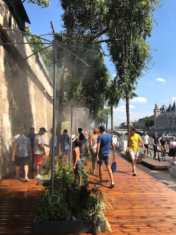 Paris Plages zomer in Parijs