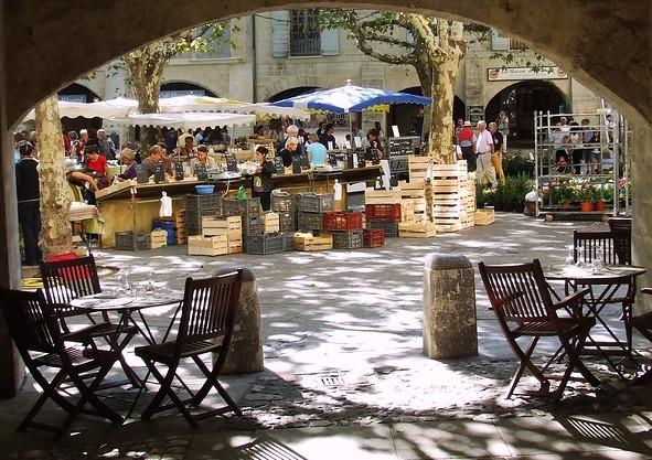 Uzes markt