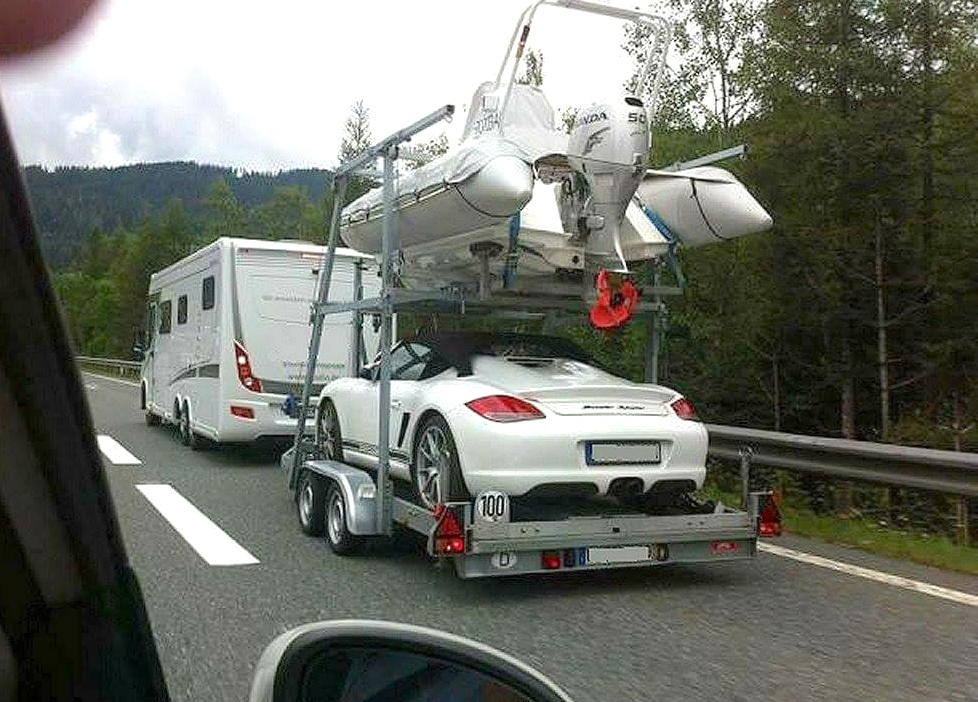 onderweg op vakantie Franse snelweg