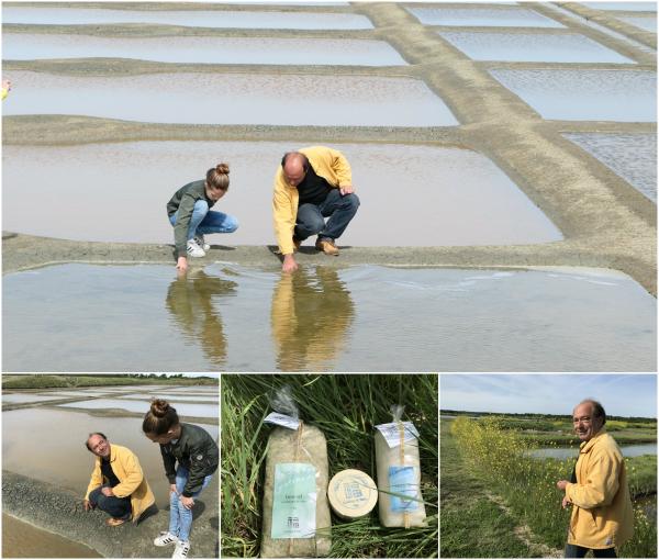 zoutvelden Loire Atlantique Franse westkust