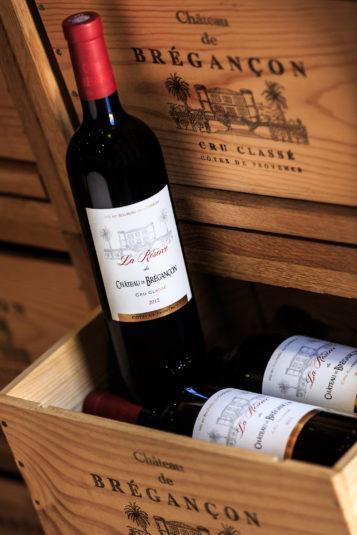 Chateau de Bregancon rode wijn koelen