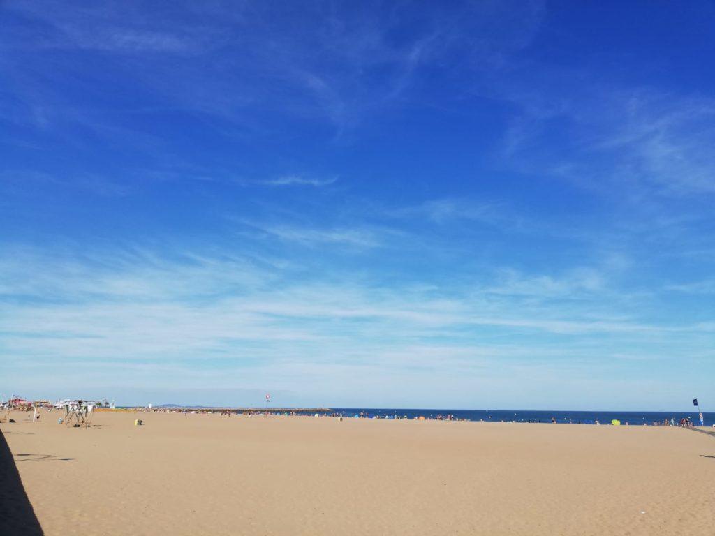 Pezenas mooi stadje languedoc roussillon Valras plage