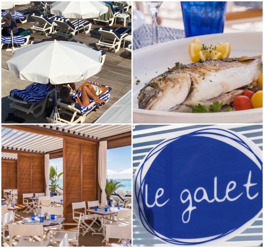 Le galet plage privée in Nice