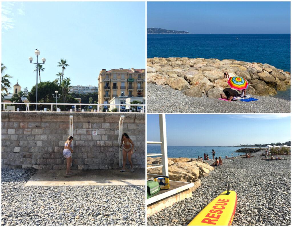 Publike strand in Nice