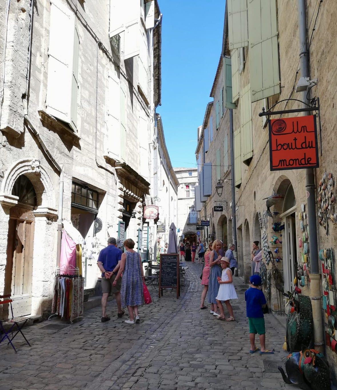 Pezenas moois stadje Langiedoc-Roussillon