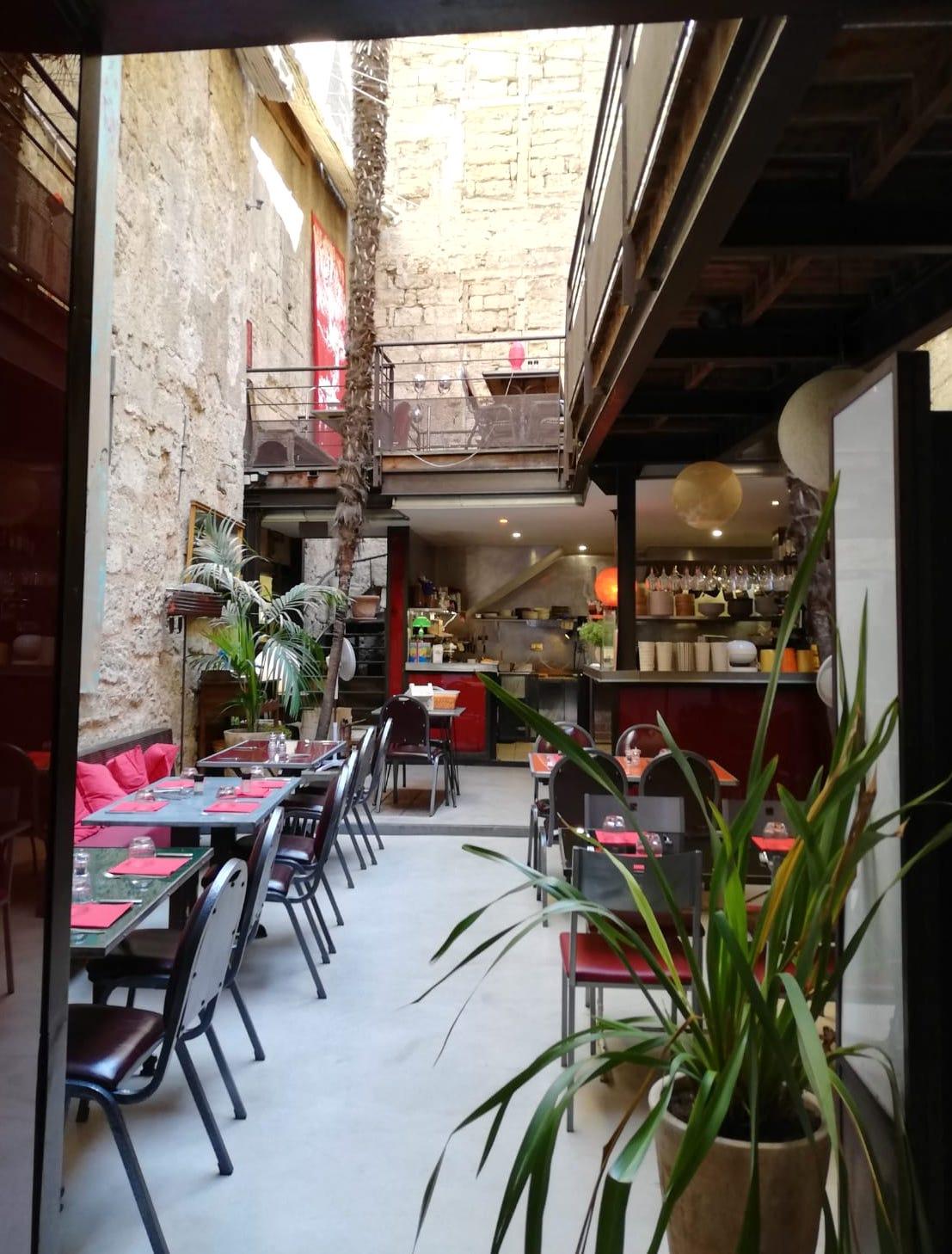 restaurant Les Palmiers in Pezenas