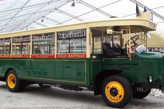 oude autobus RATP monumentendagen