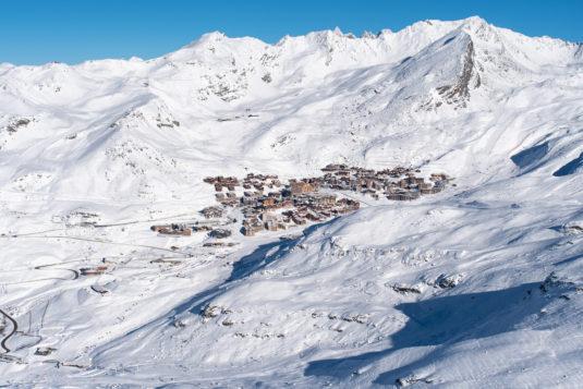 Val Thorens en skigebied