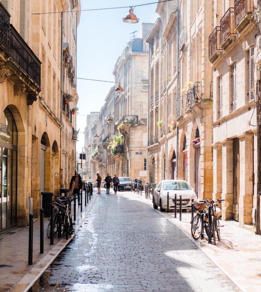 Bordeaux wijk Saint-Pierre