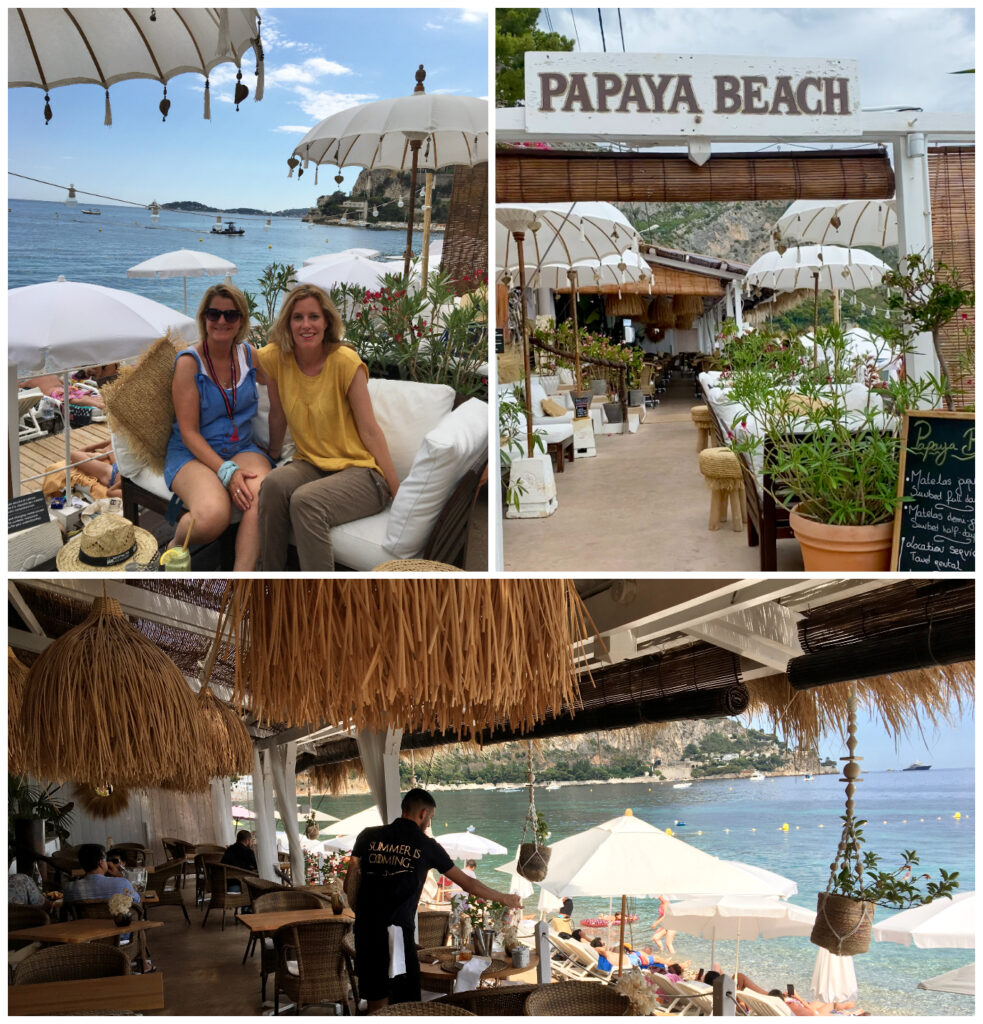 Eze sur Mer Papya Beach