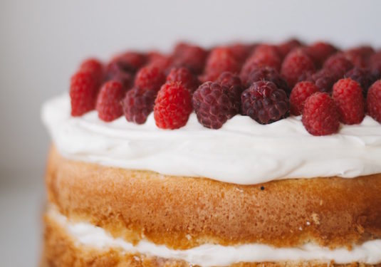 taart frambozen