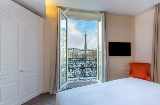 hotel Parijs bij Eiffeltoren La Comtesse