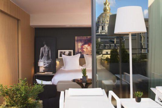 hotel Parijs bij Eiffeltoren Cinq Codet