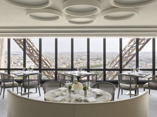 JUles Verne Eiffeltoren restaurant