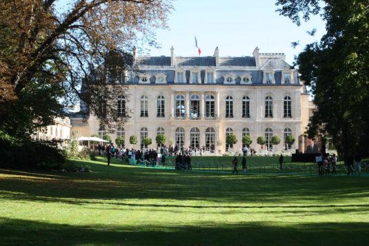 paleis van het Elysee