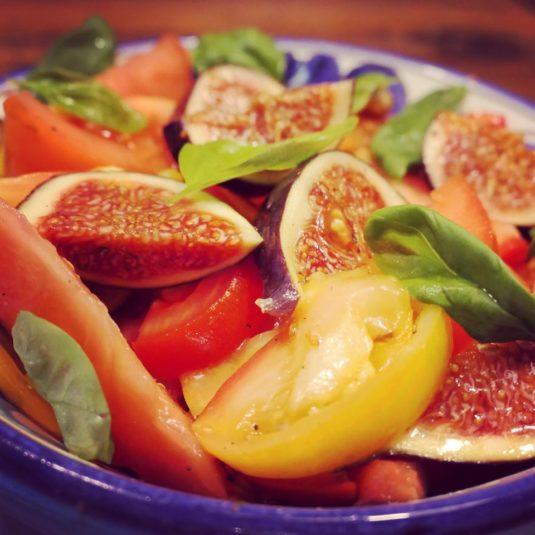 recept tomaat vijgen salade