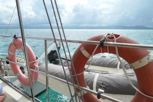 Guadeloupe-catamaran