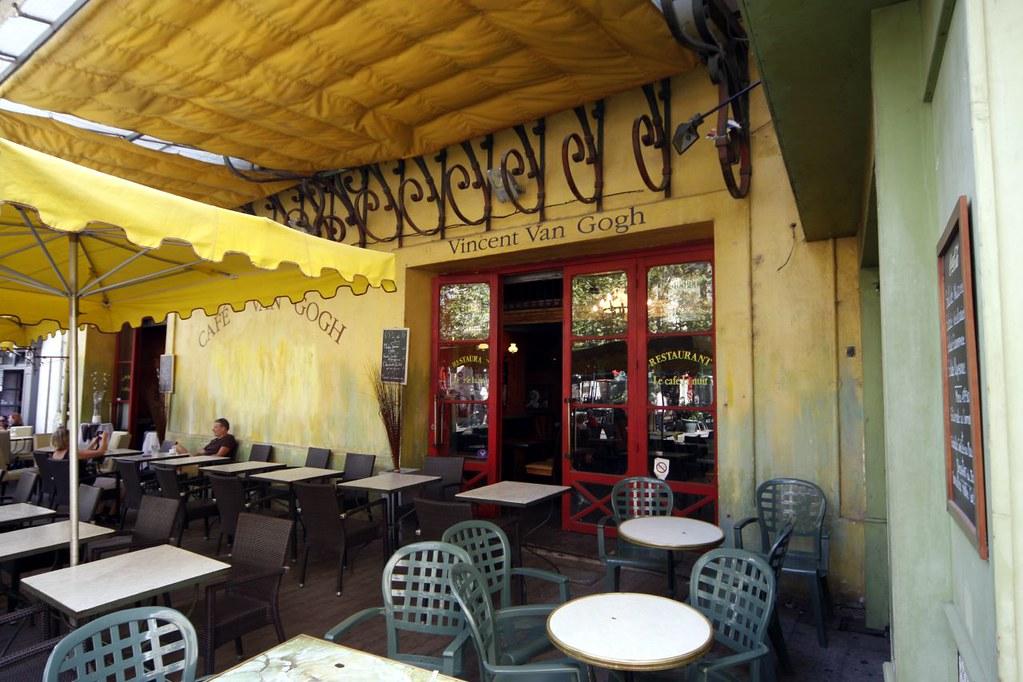 Arles Café Van Gogh Terras