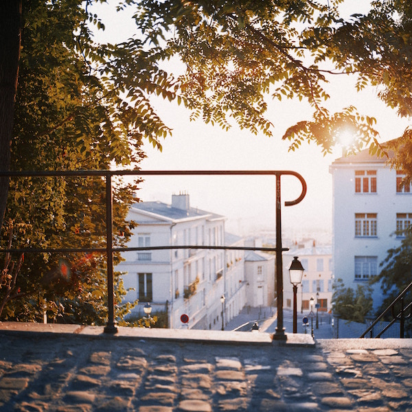 Montmartre in de herfst