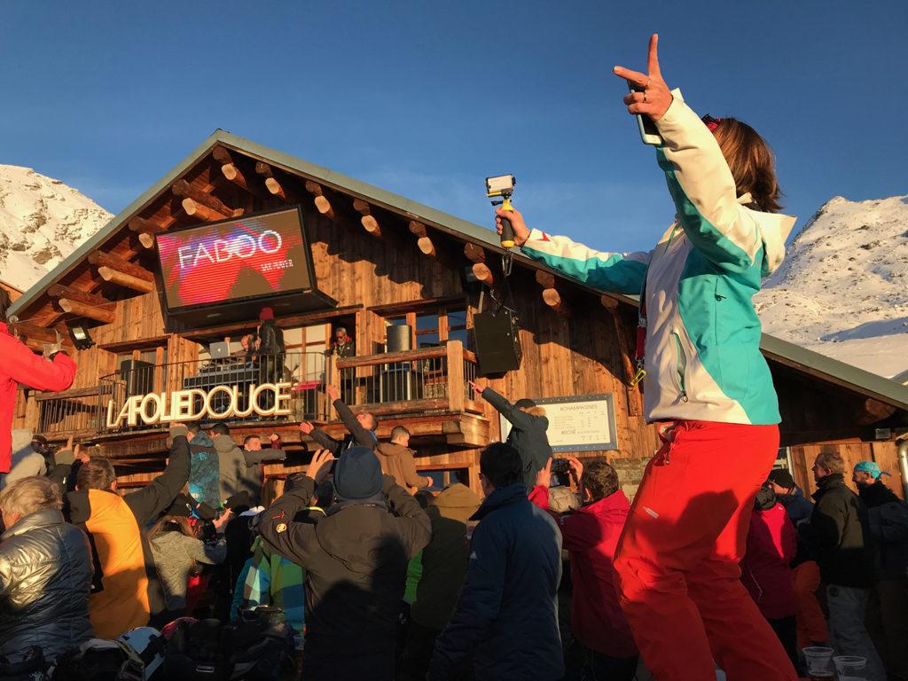 La Folie Douche Les Arcs Wintersport