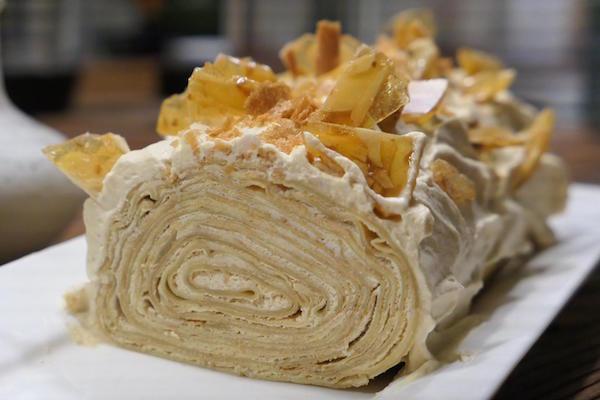 recept kerststammetje van crepesCarole