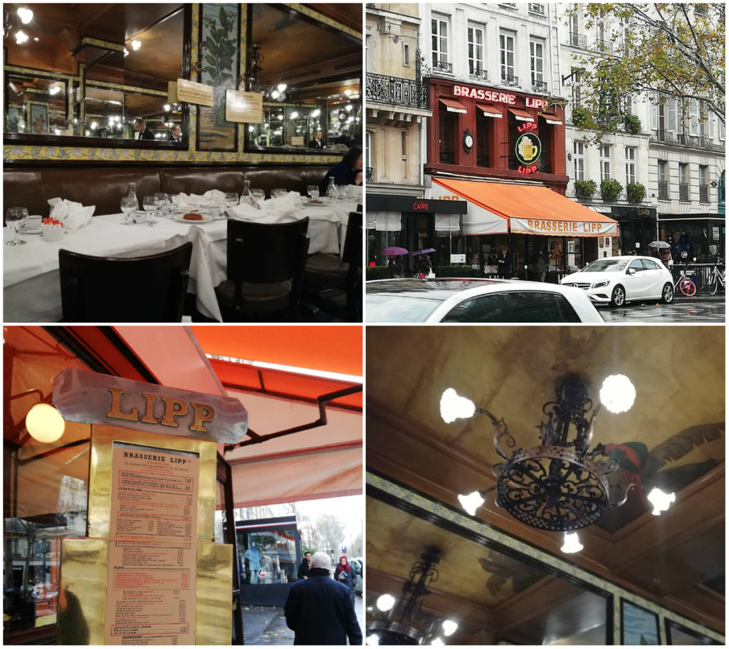Brasserie Lipp Parijs restaurant