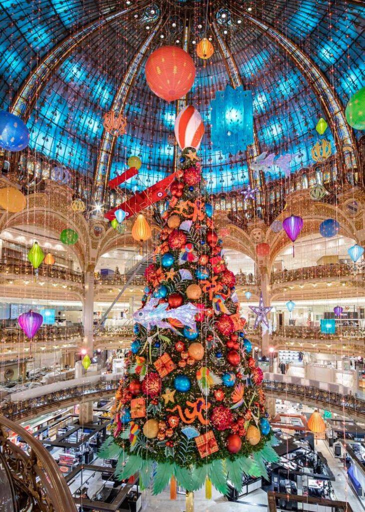 Galeries lafayette kerstboom 2020