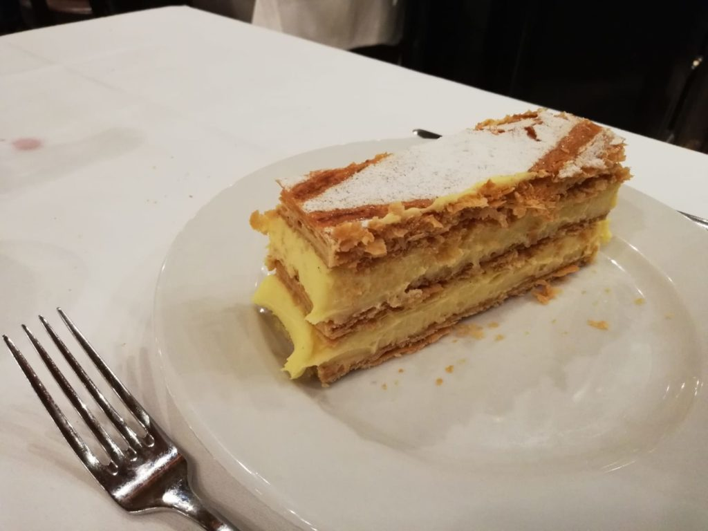 Mille feuille Parijs Brasserie Lipp
