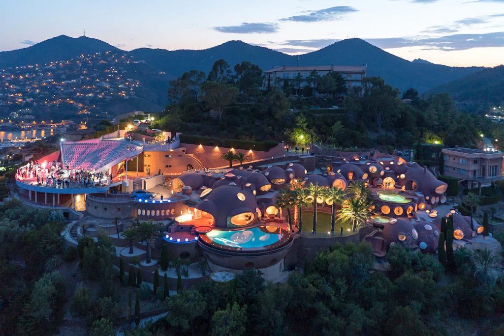 Palais Bulles Feesten Cote d'Azur