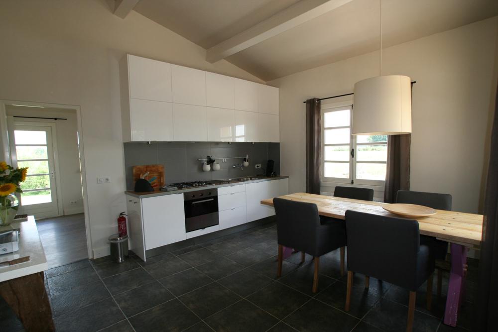 keuken pigeonnier Villa Lafage